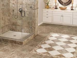 Ceramic bathroom floor- 6 Flooring Options for your Florida Home - Part 1-Richardson Custom Homes-Fort Myers-300x227jpg