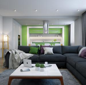 Contemporary living room-Richardson Custom Homes-Fort Myers-300x299jpg