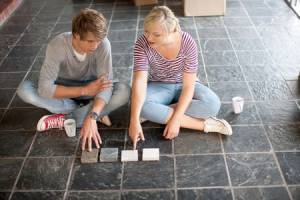 Couple making selections- 6 Flooring Options for your Florida Home - Part 1-Richardson Custom Homes-Fort Myers-300x200jpg