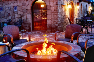 Fire pit outside-5 Ideas for Safer Holiday Gatherings-Richardson Custom Homes-Fort Myers300x200jpg