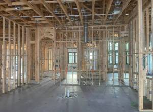 Home in framing state-Pandemic Impact On SW Florida Real Estate-Richardson Custom Homes-Fort Myers-300x219jpg
