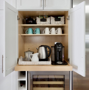 at home coffee bar-7 design trends to carry into the new year-Richardson Custom Homes-Fort Myers-300x303jpg